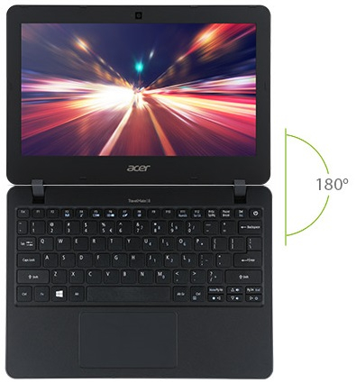 Acer TMB117-MP-P46Z NX.VCJEU.009 11,6�?notebook, fekete + Windows10