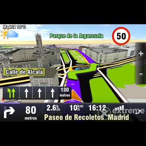 Sygic GPS Navigation 3D-ový navigační software pro Android s
