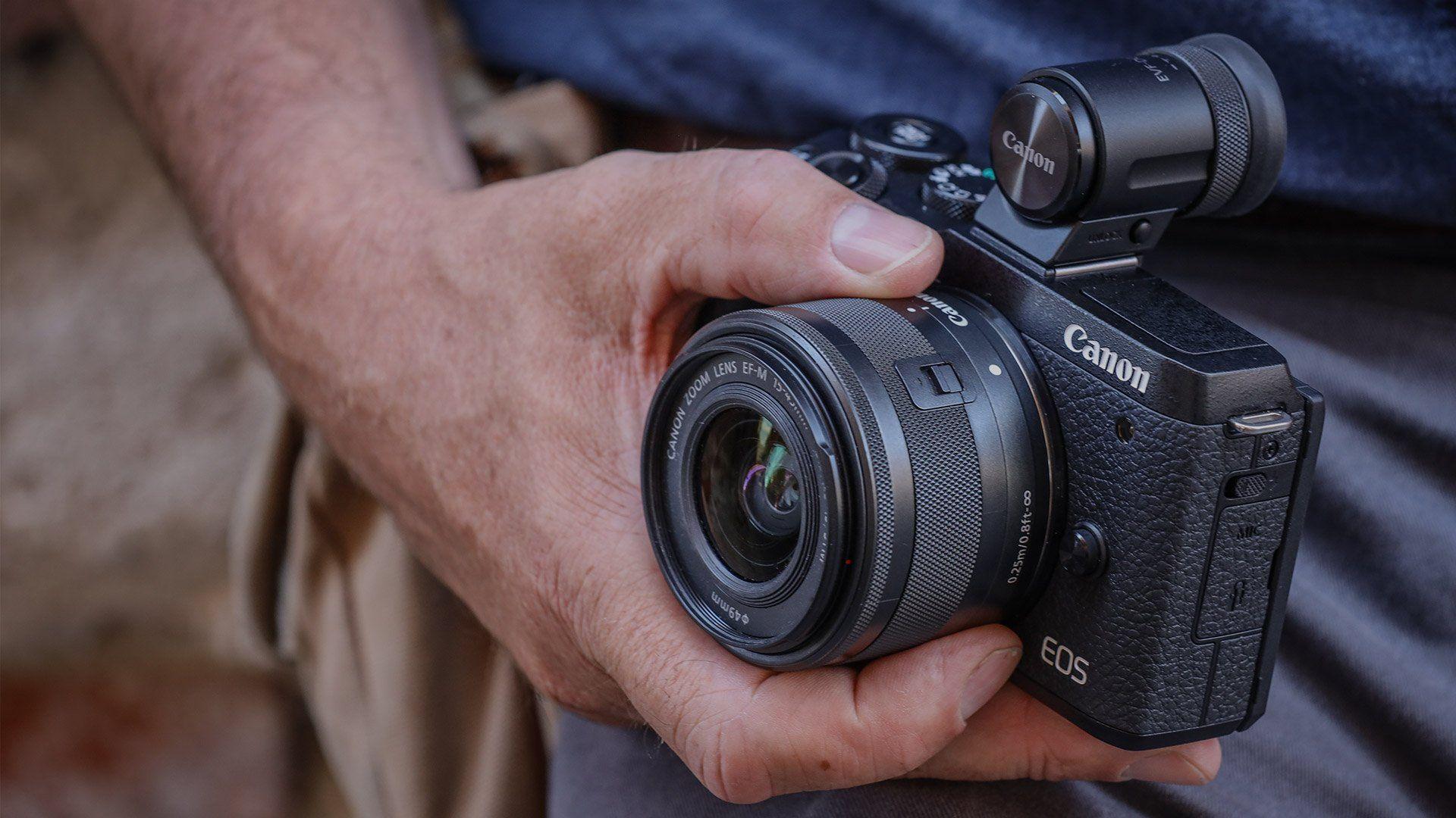 Fotoaparat Canon EOS M6 Mark II