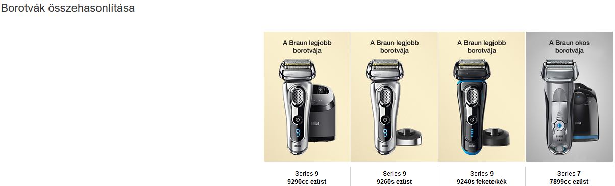 Braun Series 9