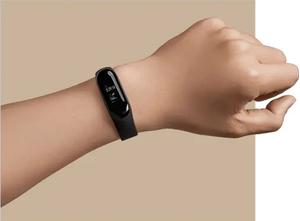Xiaomi MiBand 3 aktivitásmérő karpánt pulzusmérővel, fekete 4
