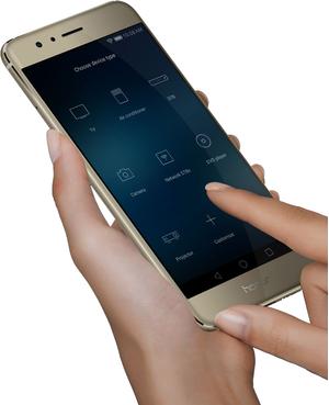 Honor 8 Dual SIM kártyafüggetlen okostelefon, Black (Android)