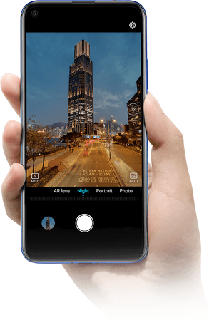 Honor 20 6GB/128GB Dual SIM kártyafüggetlen okostelefon, Zafírkék (Android) 07