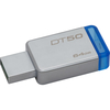 Kingston DataTraveler 50 64GB  USB 3.0 pendrive, ezüst (DT50/64GB)