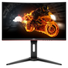 "AOC C24G1 24"" FullHD ívelt 144Hz Gamer LED Monitor"