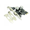 Approx APPPCIE2S 2x serial port PCI-E kartica (Low Profile nosilec v paketu)