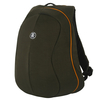 Rucsac Crumpler Muffin Top Full Photo Backpack, oliva/portocaliu
