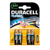 Duracell Turbo MN2400 AAA 4ks