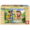 Educa Disney Tinker Bell and Friends Puzzle, drveni, 100 komada