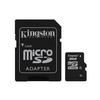 Kingston 8GB microSDHC memóriakártya + SD adapter, Class 4 (SDC4/8GB)
