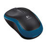 Mouse optic wireless Logitech M185, albastru