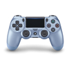 PlayStation 4 (PS4) Dualshock 4 V2 Wireless Controller, Titanium Blue