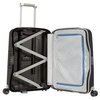 Куфар Samsonite S Cure Spinner 55 cm, черен