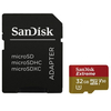 SanDisk Secure Digital MicroSD 32GB Extreme UHS-I, V3 Class 10 + SD adapter