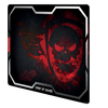 Spirit of Gamer Egérpad - SMOKEY SKULL Red (430 x 320 x 3mm; piros)