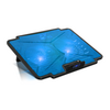 "Spirit of Gamer Notebook Hűtőpad 15,6""-ig - AIRBLADE 100 Blue (25dB; max. 125,72 m3/h; 2x12cm, LED, 2xUSB2.0)"