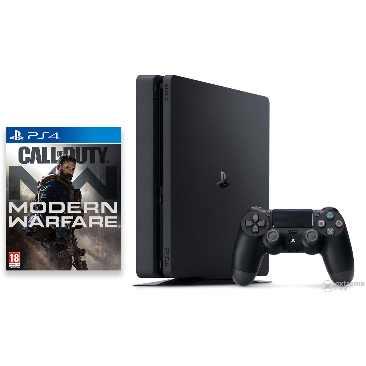 Igralna konzola PlayStation® PS4 Slim 1TB s programsko opremo za igre Call Of Duty Modern Warfare 4