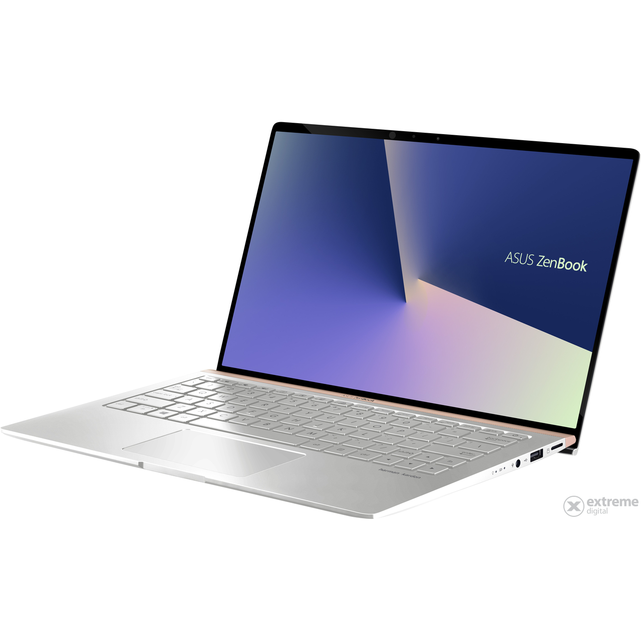 Asus ZenBook UX433FA-A5065T notebook, ezüst + Windows 10