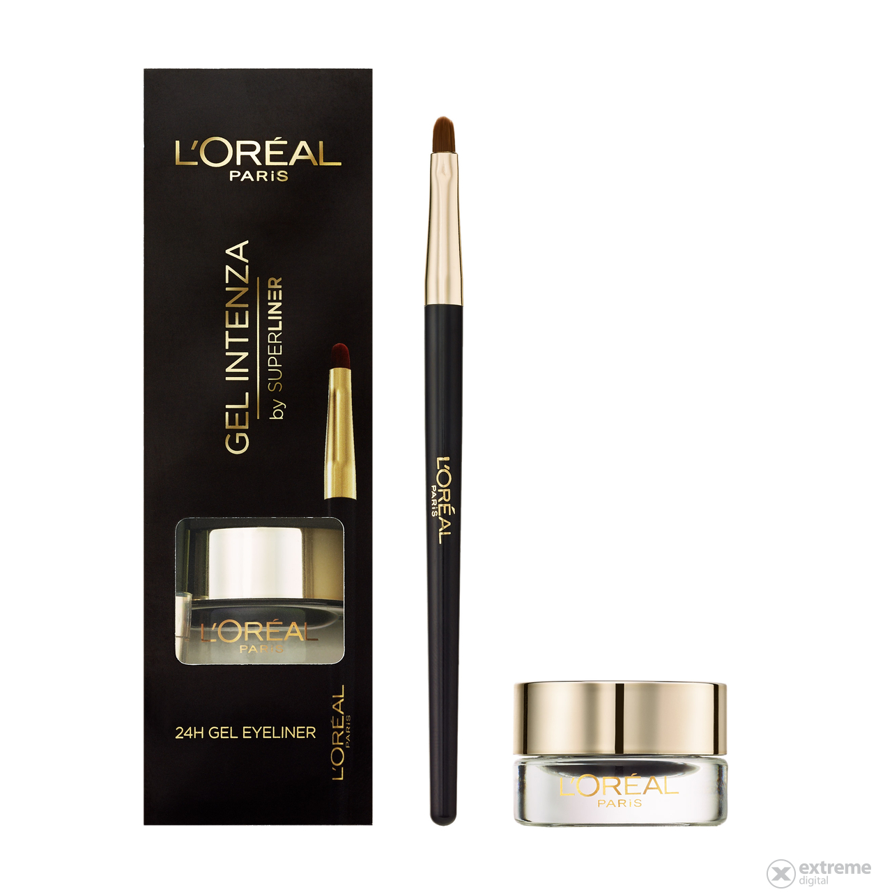 L`Oréal Paris Super Liner Gel Intenza 01 Pure Black