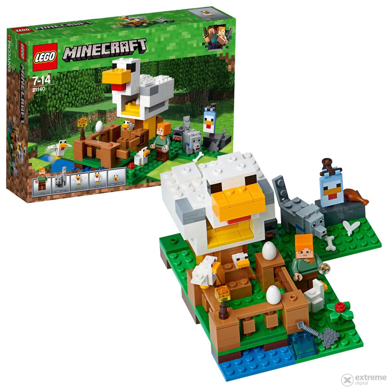 lego minecraft csirkeudvar 21140 extreme digital. Black Bedroom Furniture Sets. Home Design Ideas