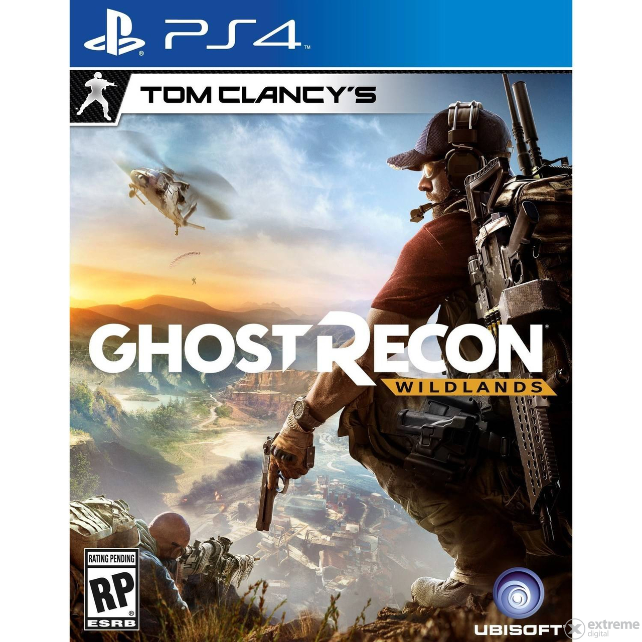 Ubisoft Tom Clancy`s Ghost Recon Wildlands PS4 játékszoftver