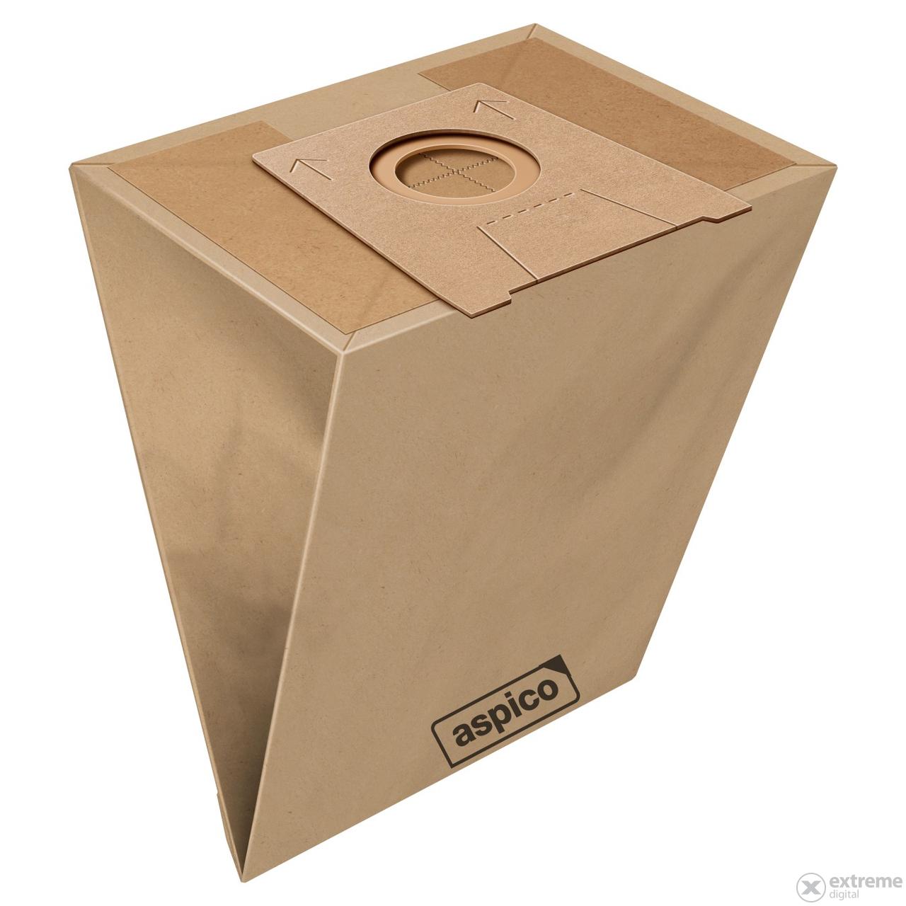 Aspico 701 5db papír porzsák + 1db univerzális motorfilter (300701)