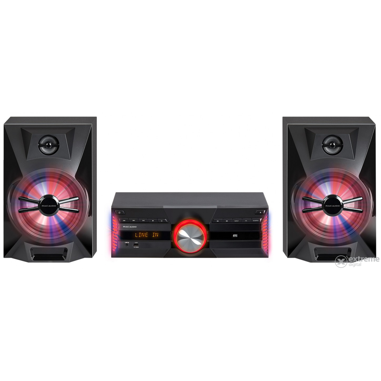 Mac Audio MPS 701 Bluetooth/DAB+ mini hifi rendszer