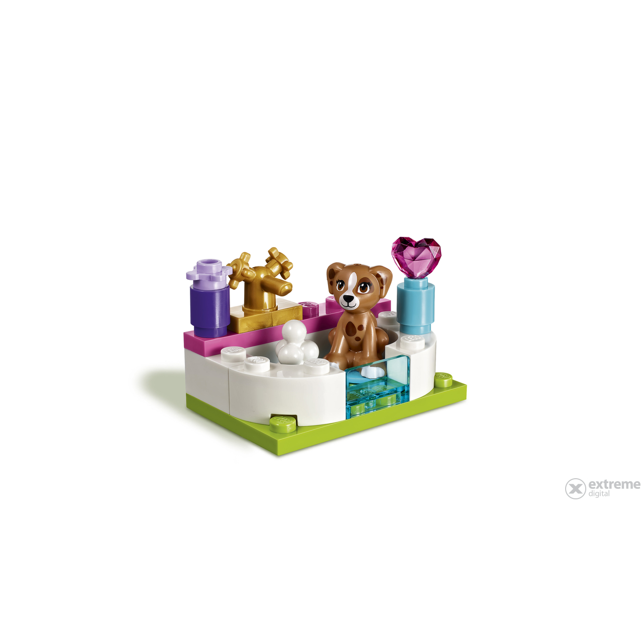 Lego friends salon de infrumusetare pentru catei 41302 for Lego friends salon de coiffure