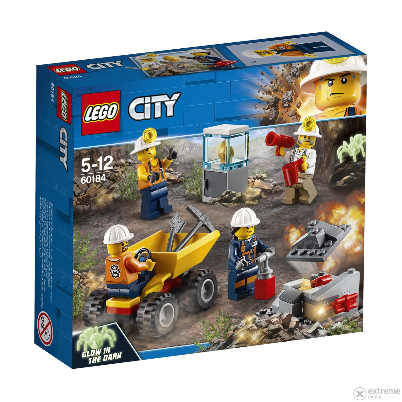 Gold And Silver Mining In Palestine Mail: LEGO® City Bányászcsapat 60184