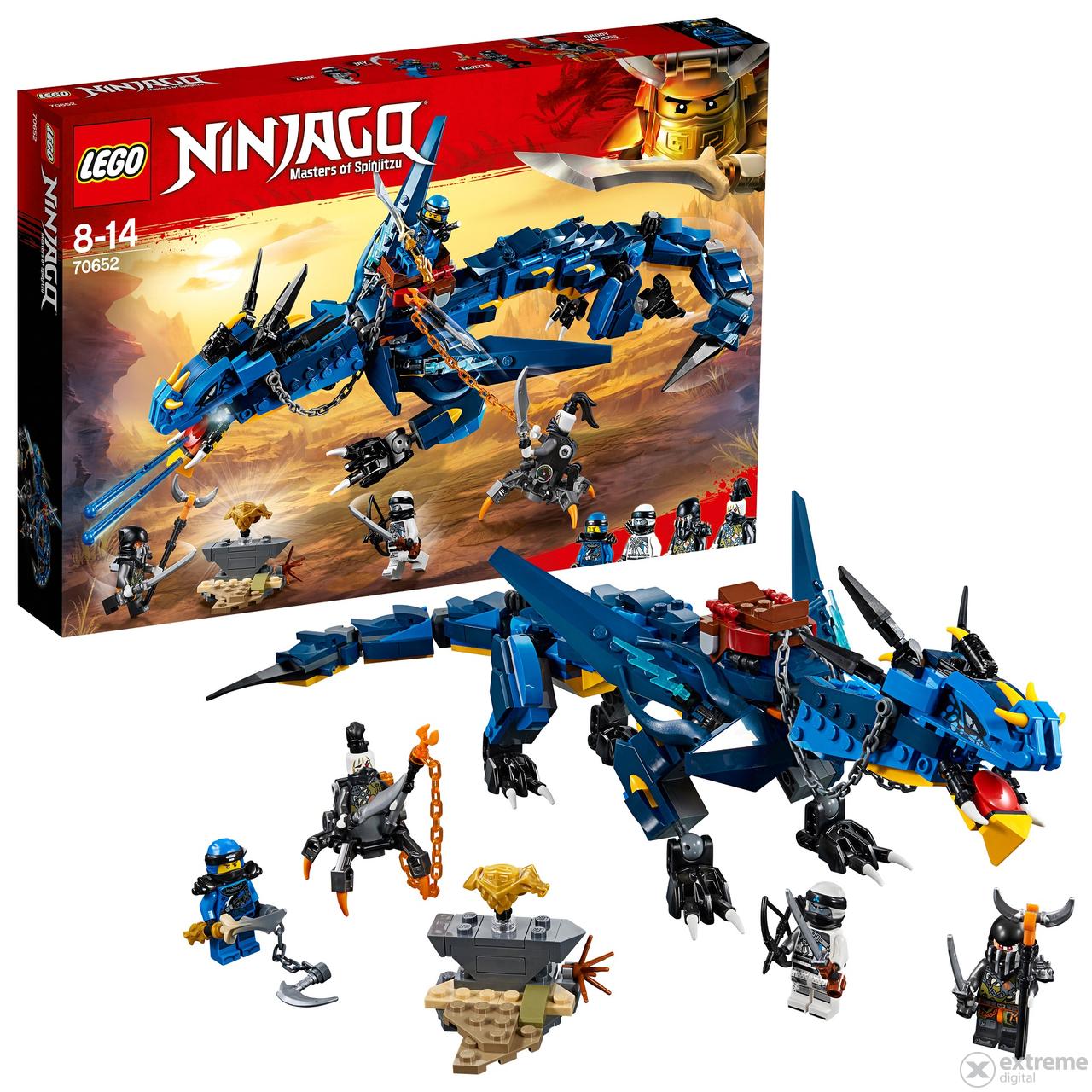 Lego ninjago 70652 viharkelt extreme digital - Ninja vert lego ...