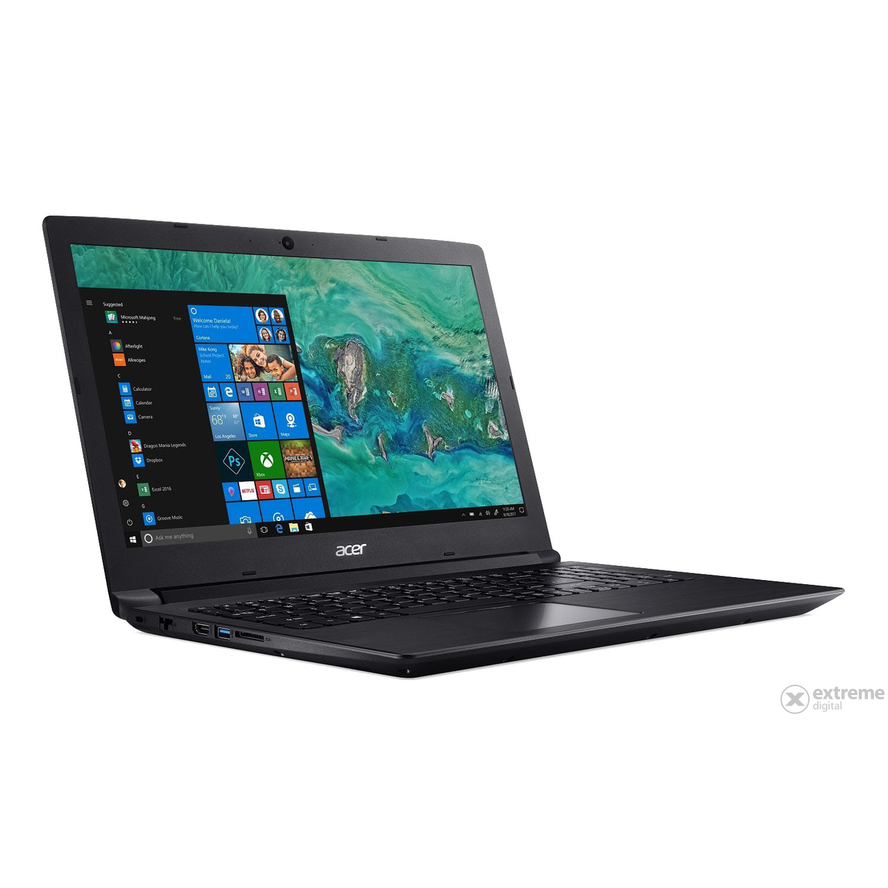Acer Aspire A315-33-C91C NX.GY3EU.020 notebook Windows 10, fekete