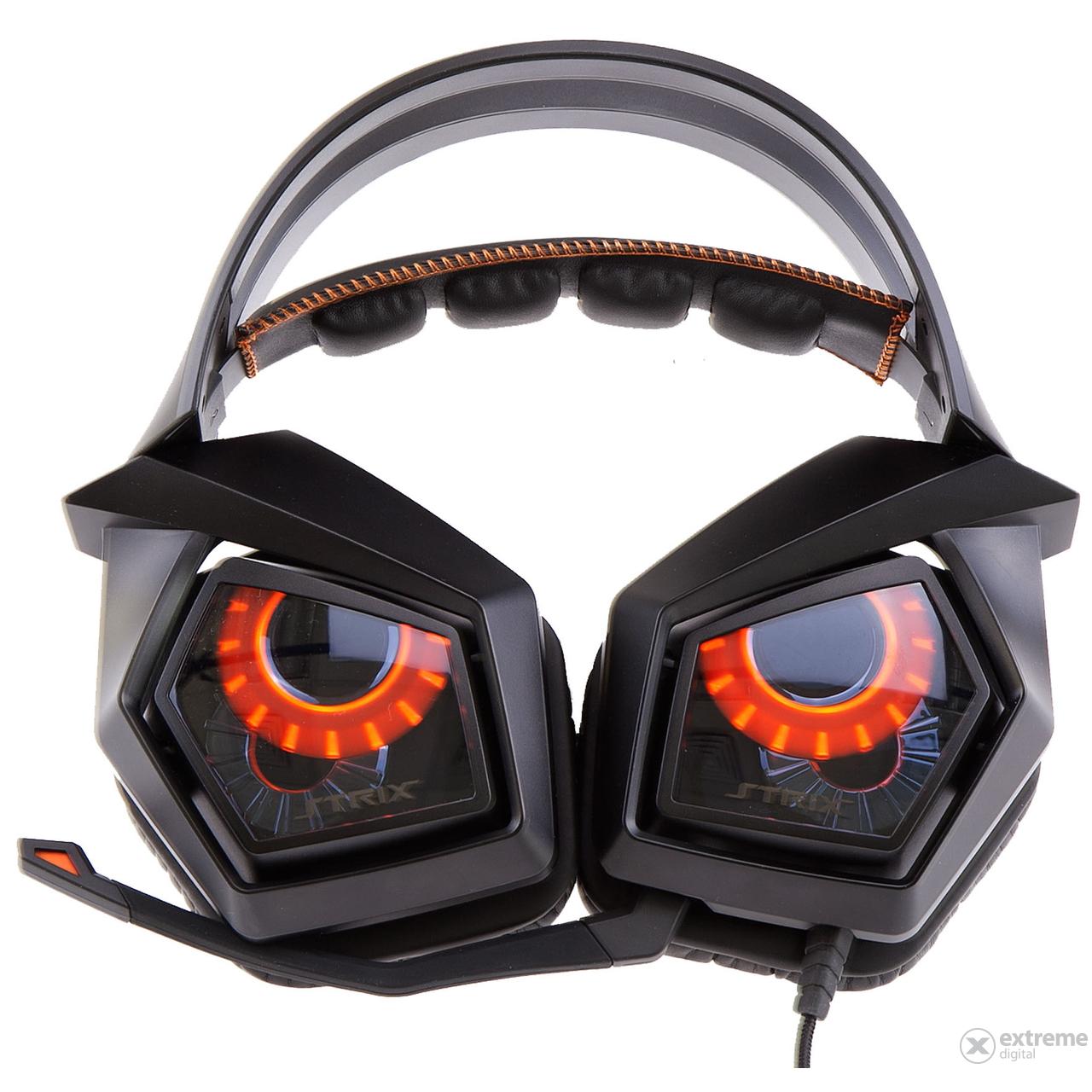 ASUS Strix 71 USB Gamer Headset Cerny