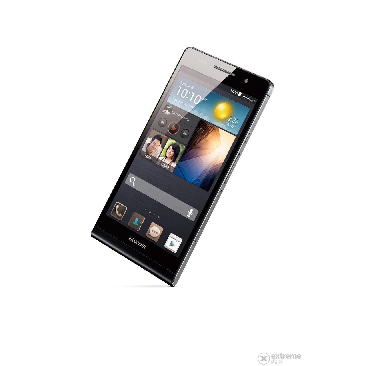 Huawei Ascend P6 kártyafüggetlen okostelefon, Black ...