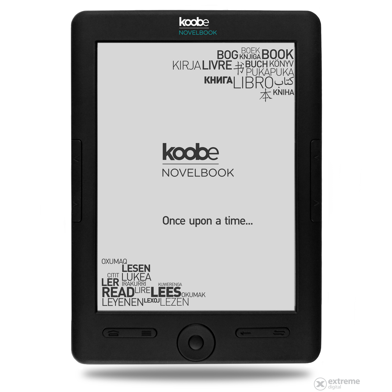 Koobe Novelbook Shine ebook čítačka