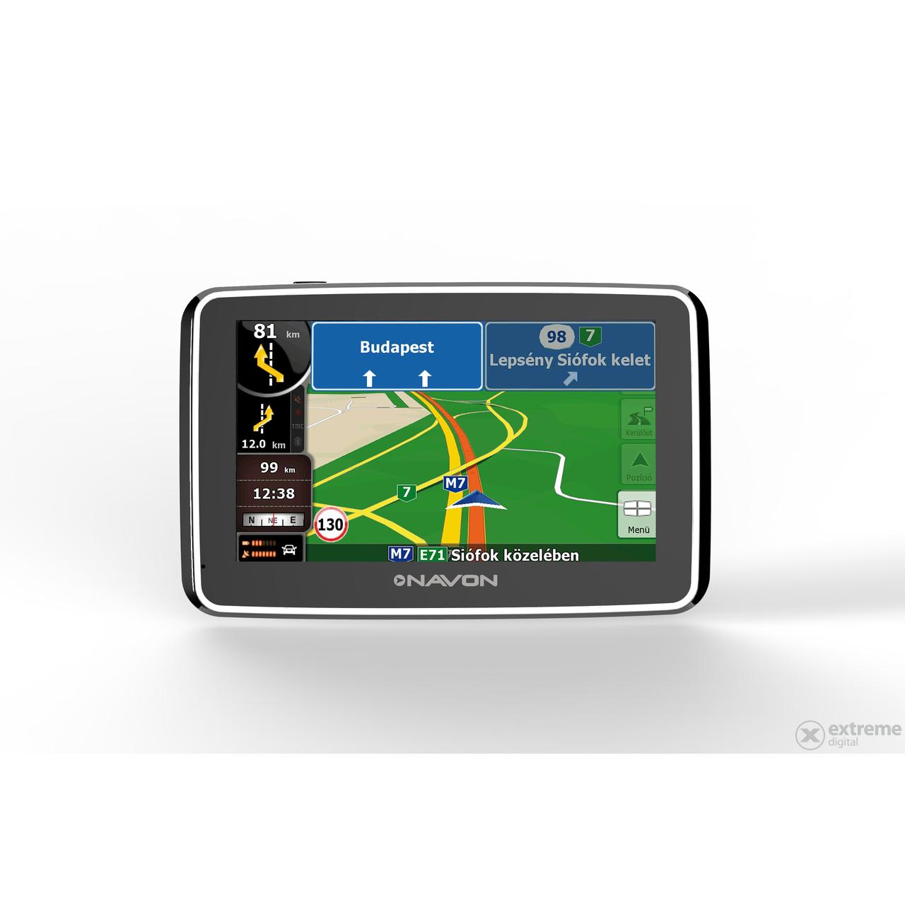 igo8 ausztria térkép Navon N490 Plus navigáció + iGO8 Teljes Európa térkép (45 ország  igo8 ausztria térkép
