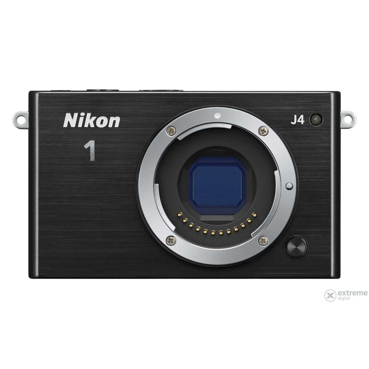Nikon 1 J4 set za digitalni fotoaparat (10-30mm PD Zoom objektiv), črni