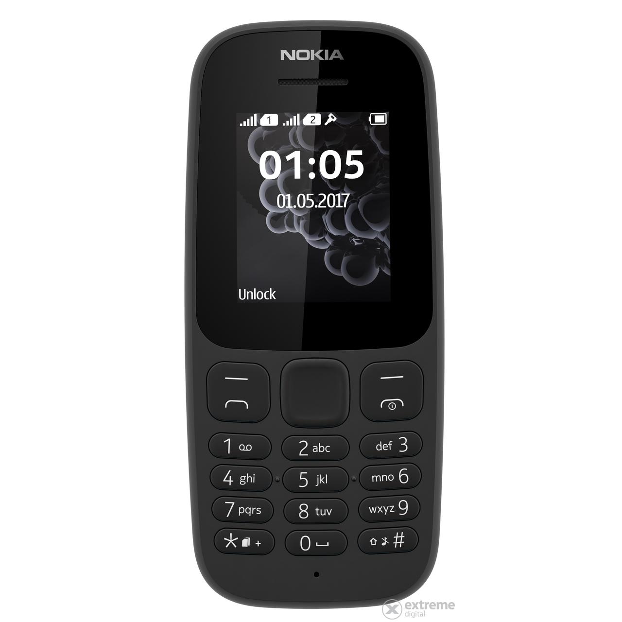 Nokia 105 (2017) Dual SIM kártyafüggetlen mobiltelefon 7de9c5cf75