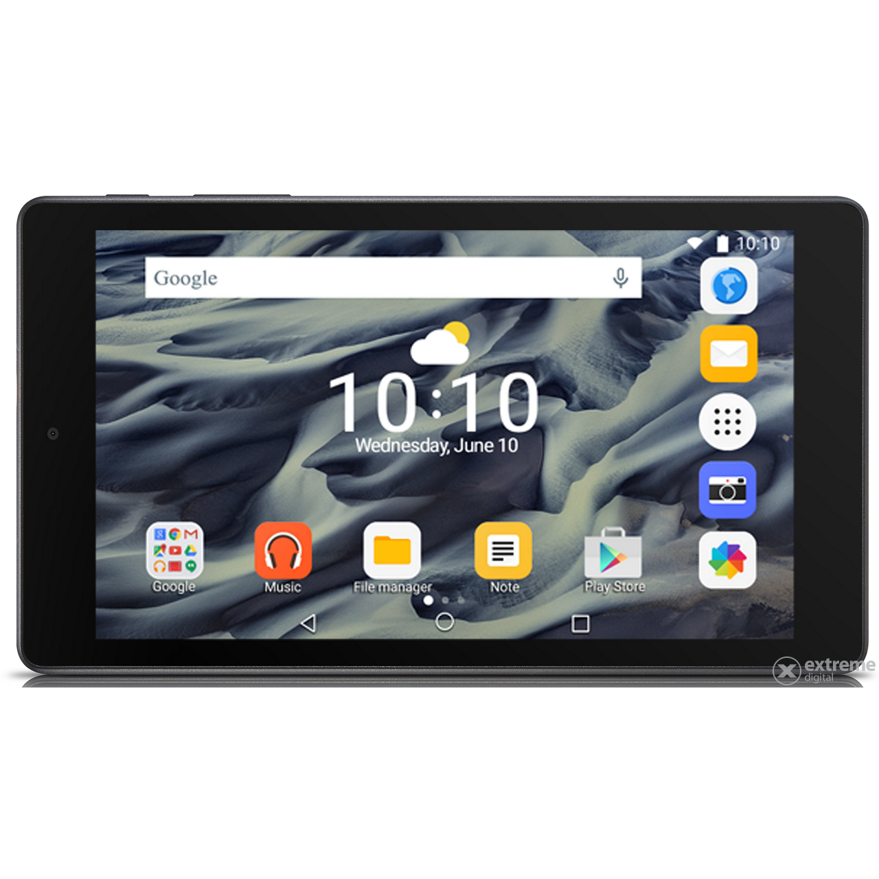 "Alcatel Pixi 4 7"" 8GB Wi-Fi tablet, Black (Android)"