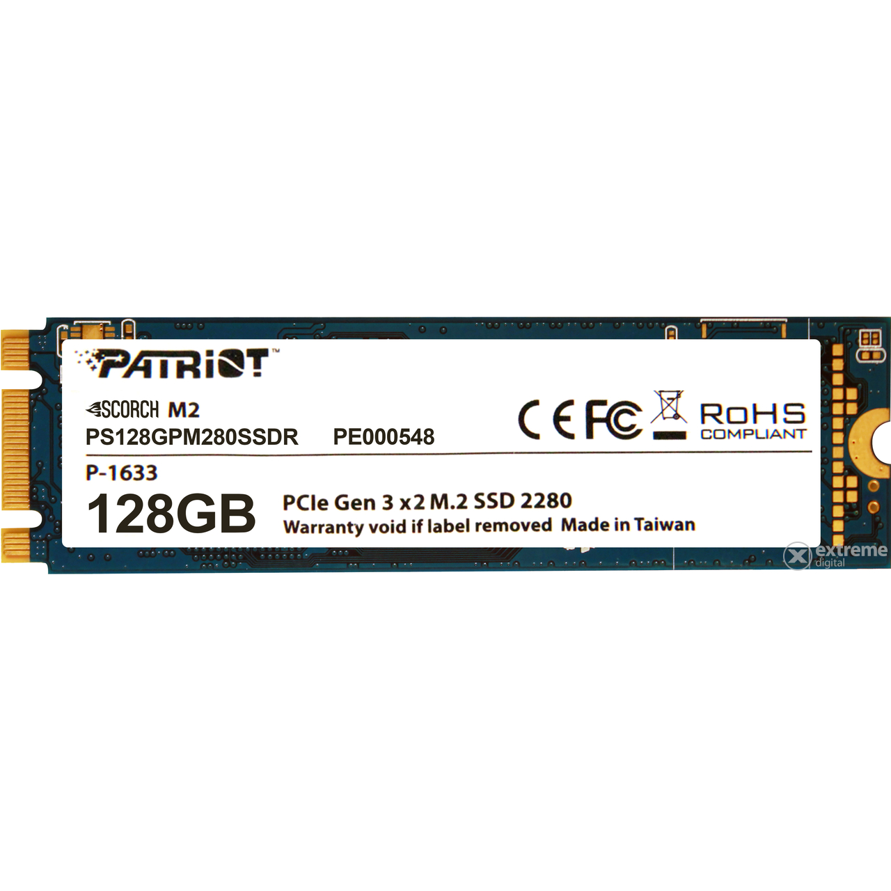 Patriot Scorch 128GB M.2 2280 (PS128GPM280SSDR) SSD