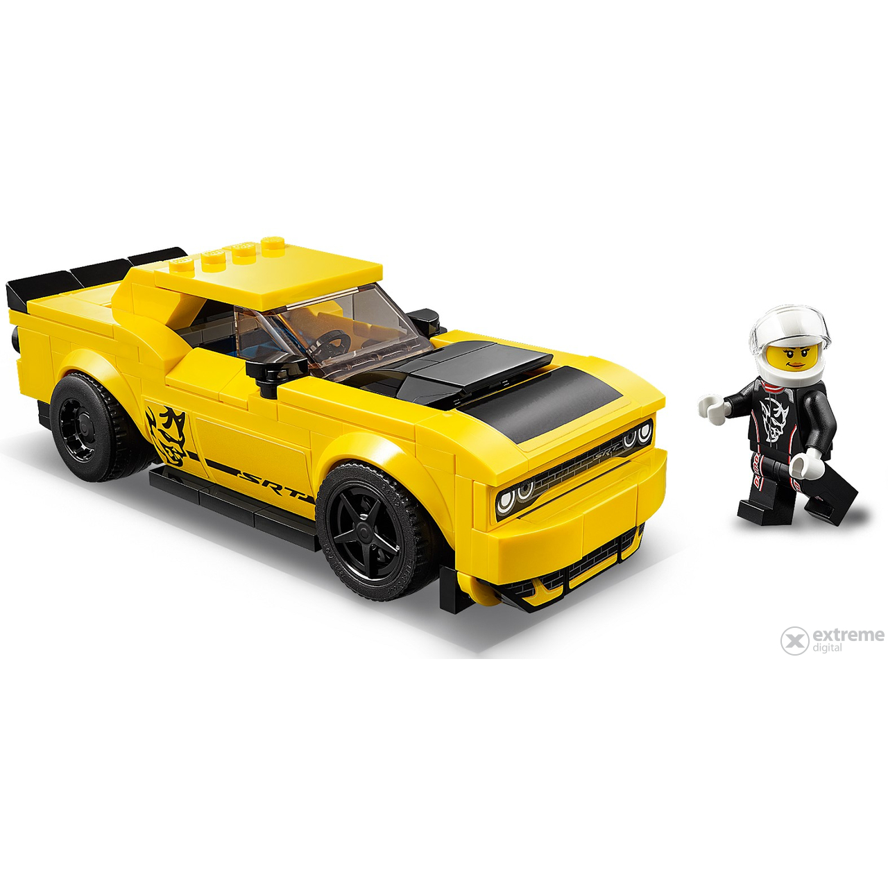 lego speed champions 75893 2018 dodge challenger srt. Black Bedroom Furniture Sets. Home Design Ideas