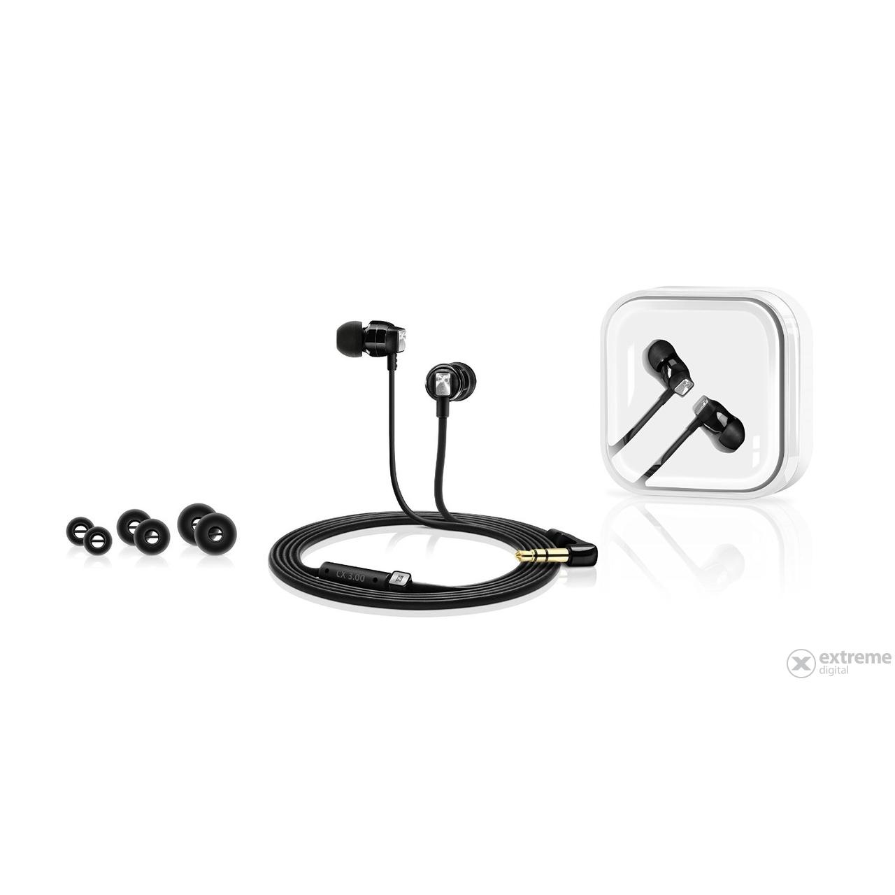 Sennheiser CX 3.00 BLACK hallójárati fülhallgató f892c08dcc