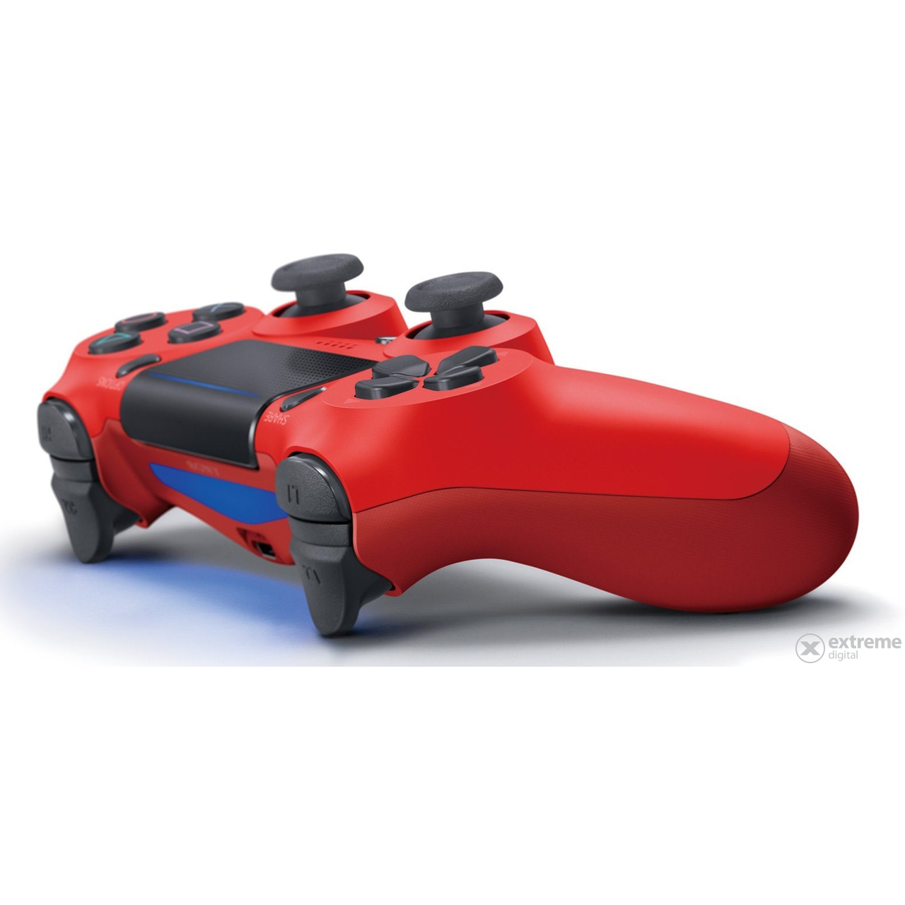 PlayStation 4 (PS4) Dualshock 4 V2 Wireless Controller, rot