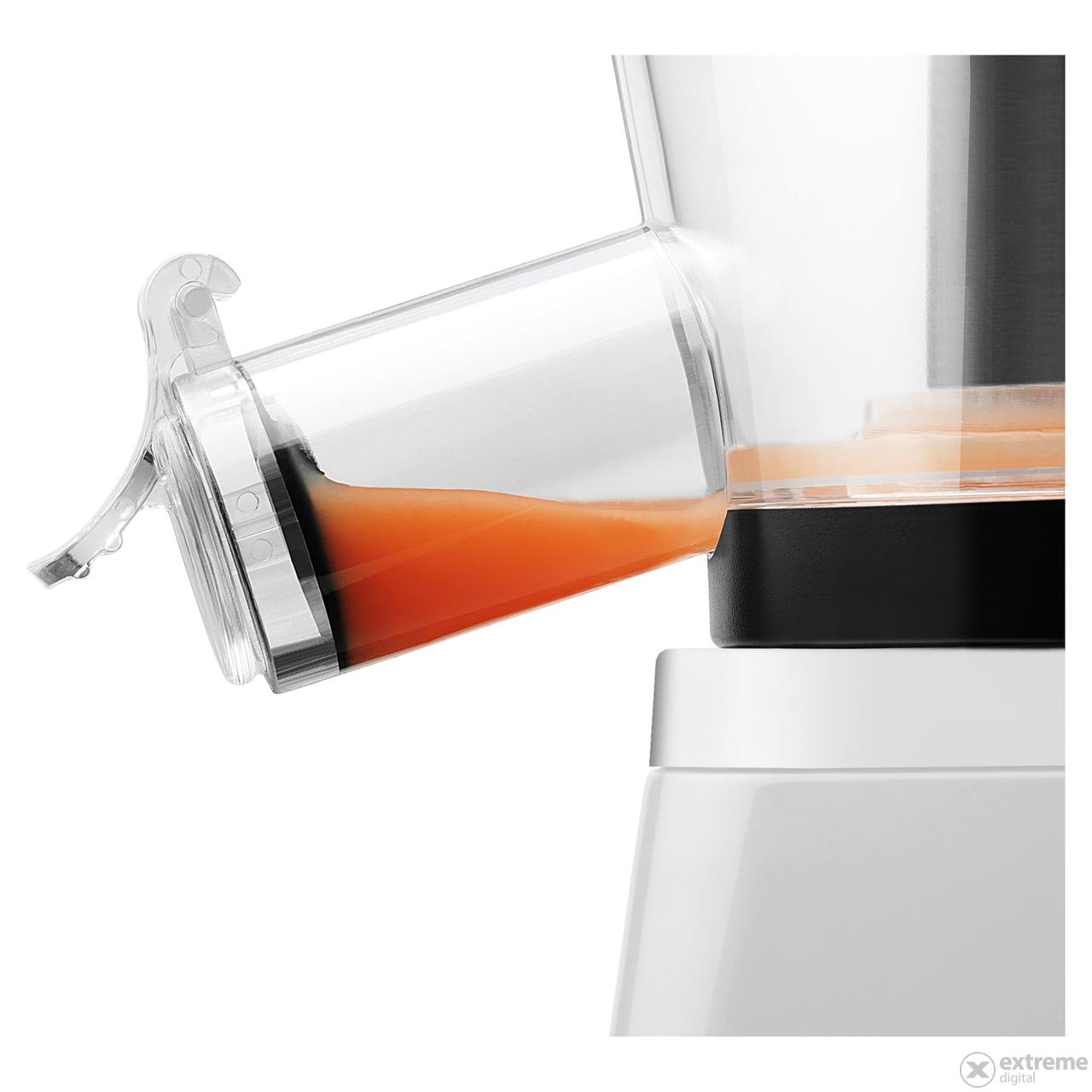 Sencor SSJ 4043WH Slow juicer gyumolcsprEs, fehEr ...