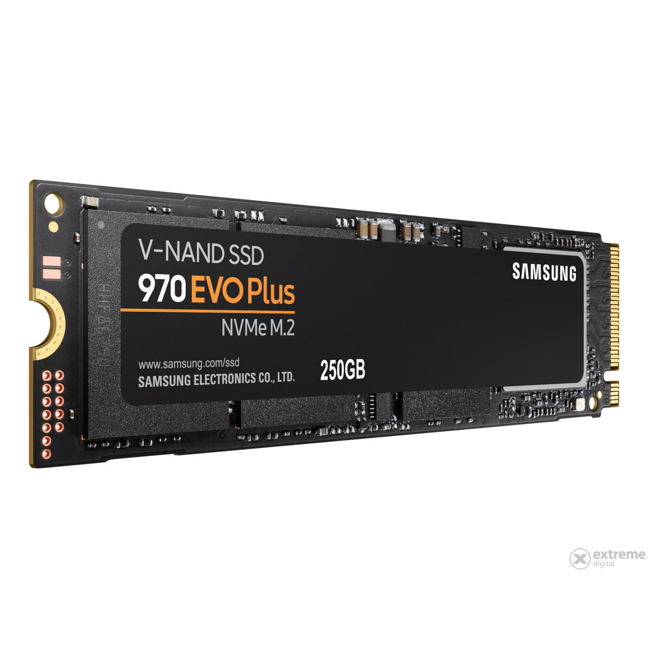 Samsung 970 EVO Plus 250GB PCIe NVMe M.2 (2280) belső Solid State Drive (SSD) (MZ-V7S250)