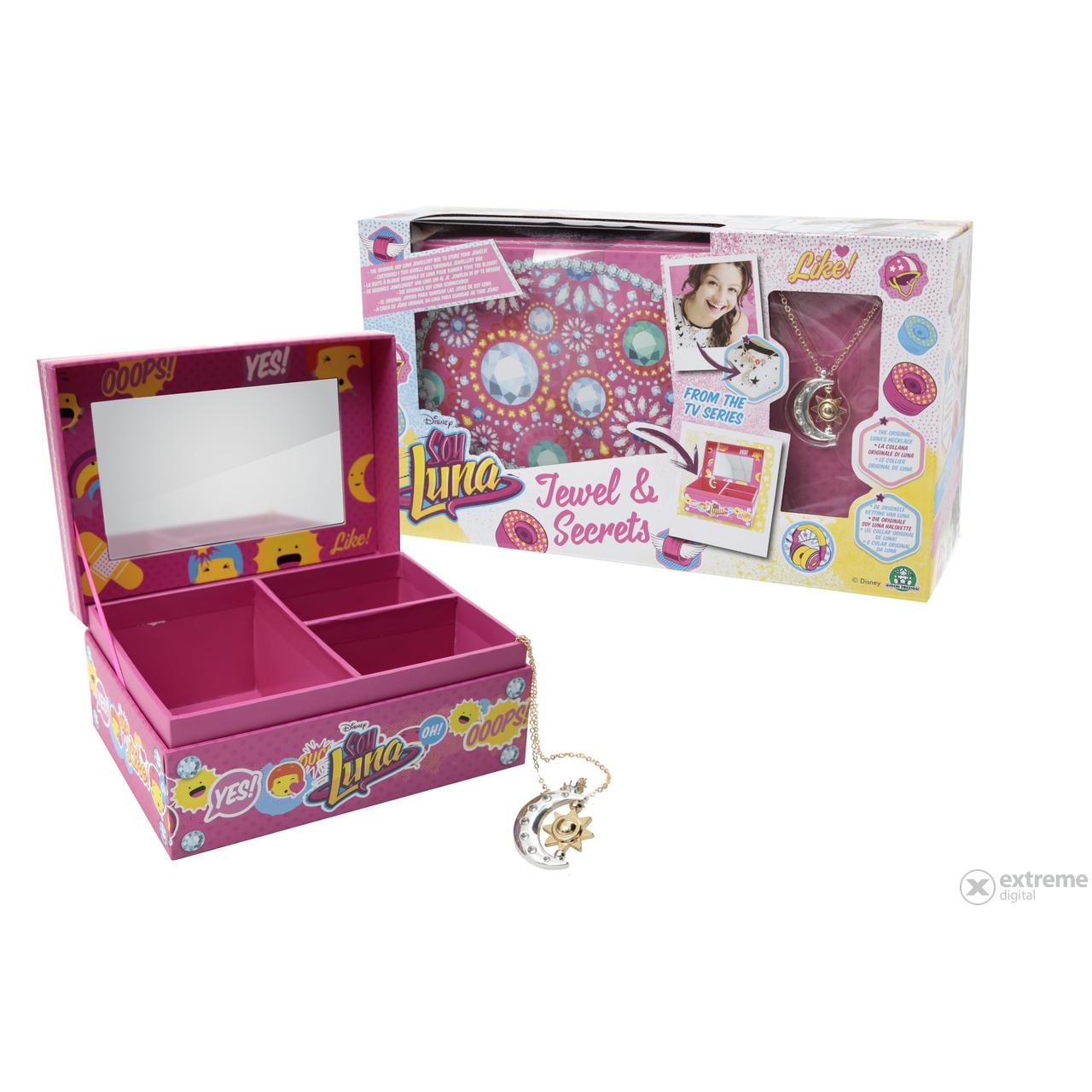 Cutie Pentru Bijuterii Soy Luna Cu Medalion Luna