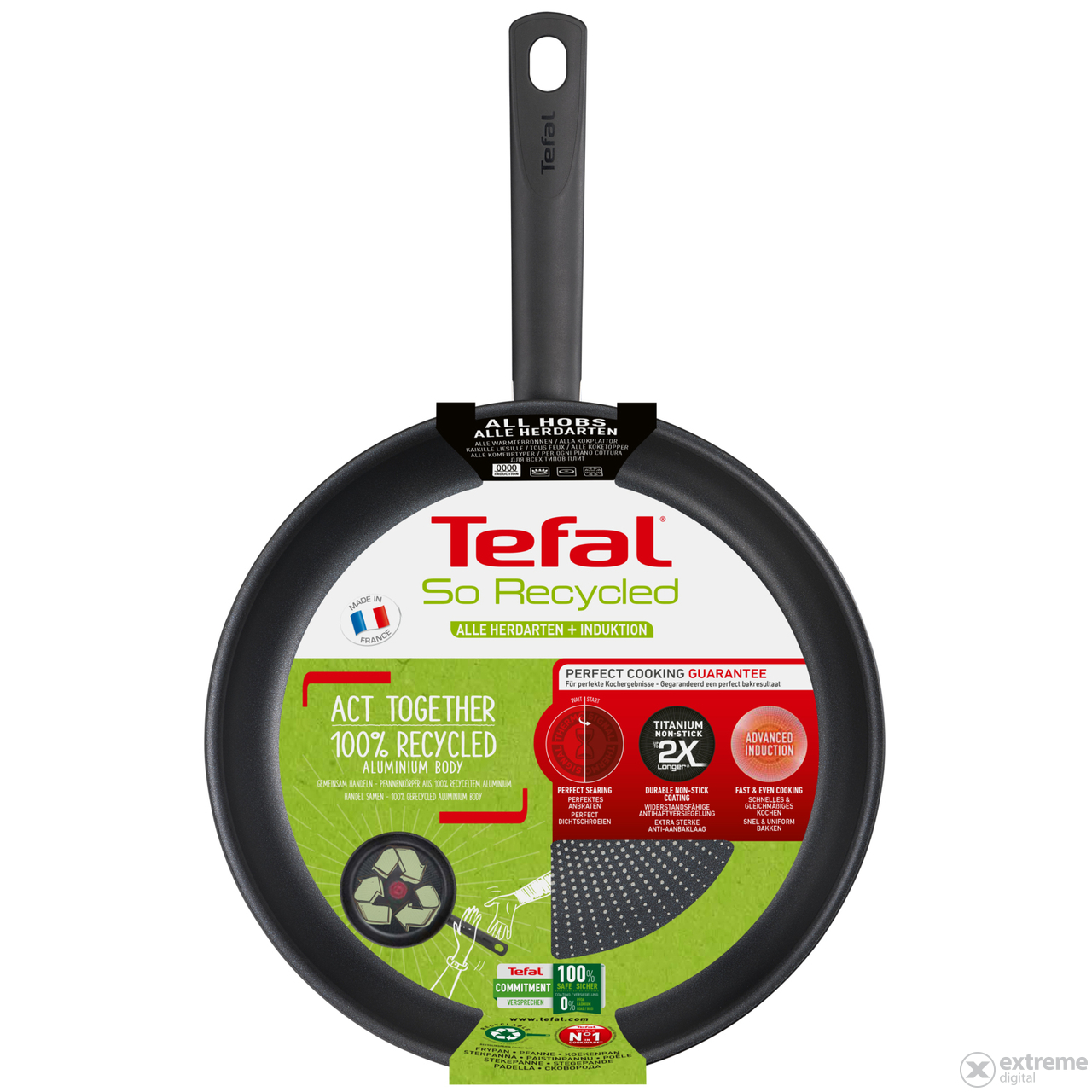 Tefal G2710553 So Recycled serpenyő, 26 cm