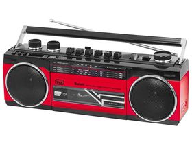Trevi RR501 Retro kasetofon USB/MP3/Bluetooth, crveni