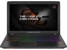 Asus Rog Strix GL553VE-FY160 notebook, fekete