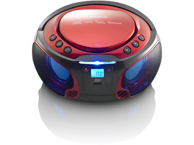 Lenco SCD-550 Bluetooth CD rádio, červené