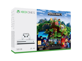 Xbox One S 500GB Minecraft Complete Adventure